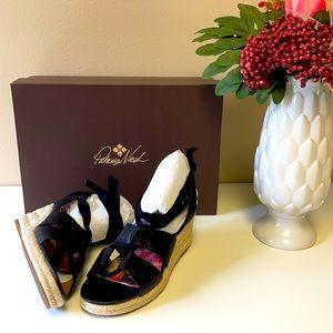 Patricia Nash Riva Wedge Sandals Size 5.5